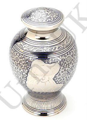 Cremation Ashes Urn Brass HAND Crafted (UU200003A) MEDIUM | INFANT | CHILD