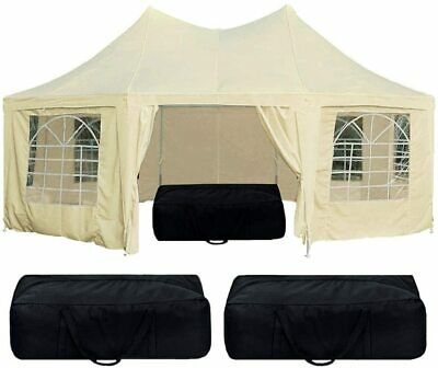 Quictent Heavy Duty Marquee Tent 6.8x5M Octagonal Party Tent Wedding Tent
