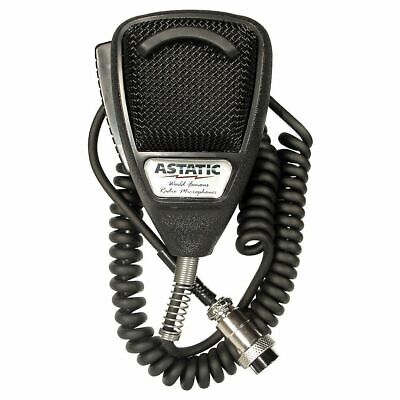 New Astatic 636L Noise Canceling Microphone 4 Pin 302-10001