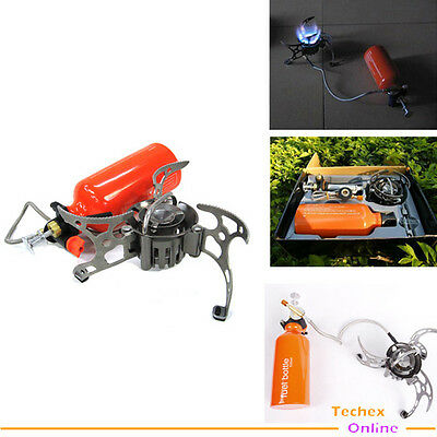 Camping Stove Lightweight Backpacking Multi Fuel Stove Travel set Cookware kit