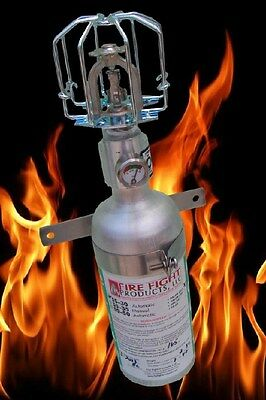 Halon SS-30 Fire extinguisher Automatically Deploy straight head