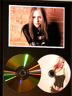 Avril Lavigne 24k Gold CD & Picture Disc Display Limited Edition USA Ships Free