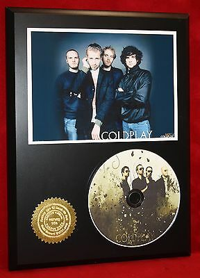 Coldplay Ltd Edition Picture Cd Disc Collectible  Award Quality Display