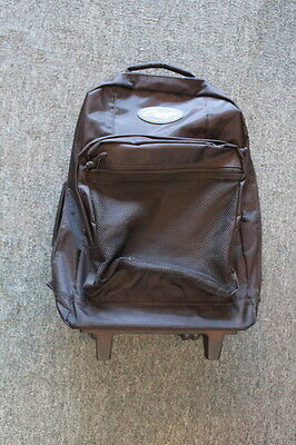 Capezio Black Rolling Travel Backpack