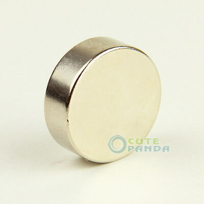 Big Round Disc Super Strong Magnet 30mm X 10mm Rare Earth Neodymium