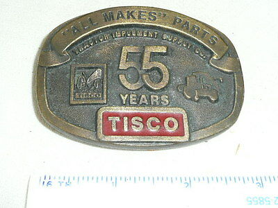 Tisco 55 Years Tractor Implement Supply Co.   Belt Buckle