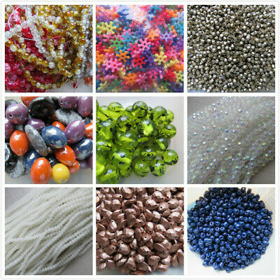 Wholesale & Job Lot Half Price Sale 20kg of Assorted Glass & Acrylic Beads