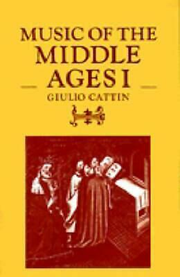 Music of the Middle Ages I by Giulio Cattin (English) Paperback Book Free Shippi