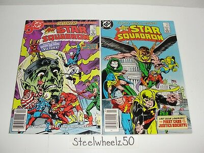 All Star Squadron 56 & 67 2 Issue Lot DC Comics JSA Justice Society Of America