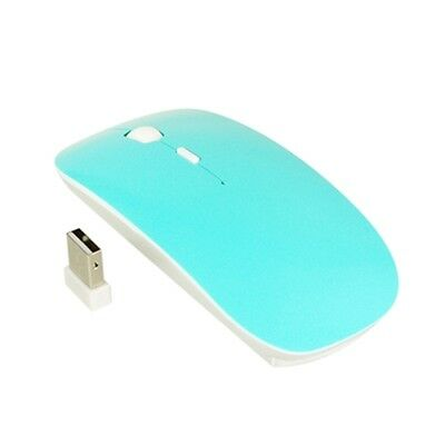 Tifany Blue USB Wireless Optical Mouse for Macbook All Laptop