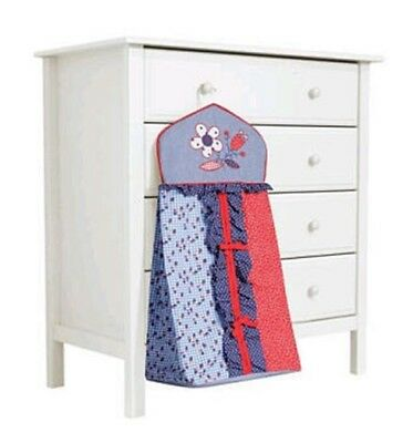 Bananafish COUNTRY COTTAGE Diaper Stacker blue red