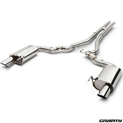 "2.5"" Stainless Steel Cat Back Exhaust System For Bmw Mini Cooper S 1.6 R53 02-06"