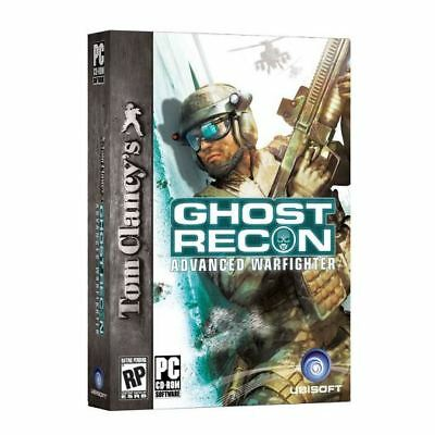 Tom Clancy Ghost Recon Advanced Warfighter PC DVD NEW