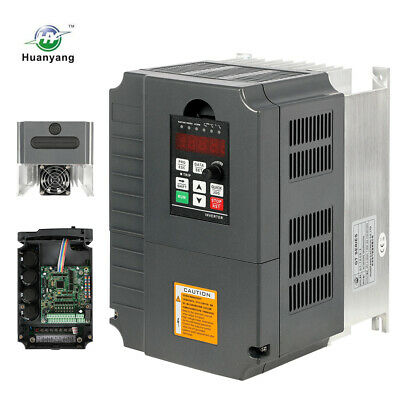 Excellent 220V VARIABLE FREQUENCY DRIVE INVERTER VFD 7.5KW 10HP 34A