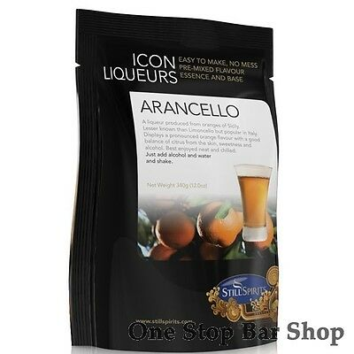 Arancello Liqueur Recipe Pack - Icon Range - Still Spirits - Still Spirits