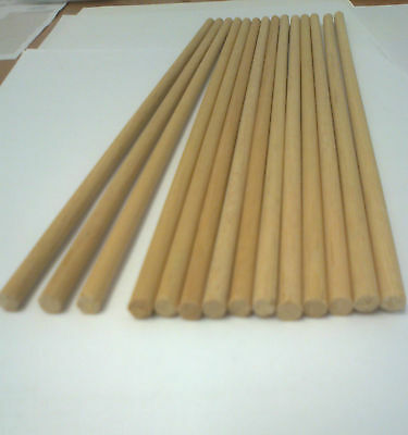 10   Wooden Dowel Rods 5Mm Diameter For Craft And Many Other Uses