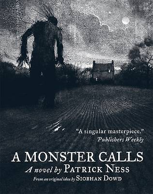 A Monster Calls by Patrick Ness New PB 2012 Carnegie Medal Book Award Winner