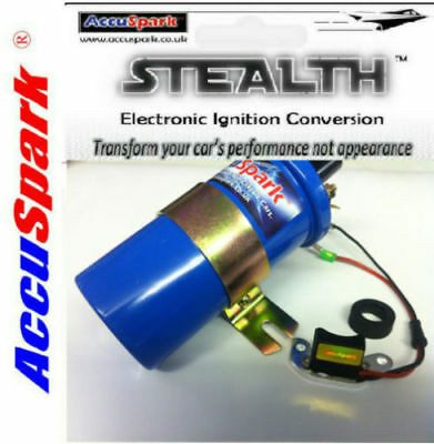 Reliant Scimitar V6 Stealth Electronic ignition Blue coil+red rotor / Bosch K17