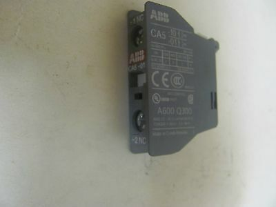 Lot of 14 ABB CA5-01 Auxiliary Contactors Good Condition!!!