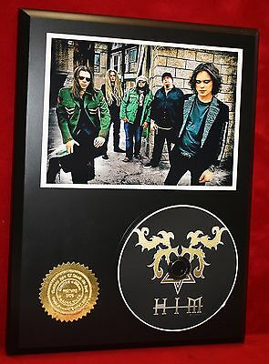 Him  Limited Edition Picture Cd Disc Collectible Rare Gift Wall Art