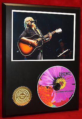 LUCINDA WILLIAMS LIMITED EDITION PICTURE CD DISC COLLECTIBLE RARE GIFT WALL ART