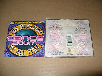 THE BEST DANCE Album In The World Ever - Vol 6 - 2 CDs 40