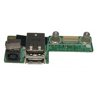 New Dell XPS M1530 DC Power Jack USB Board Charger Board 48.4W104.011 Left I/O