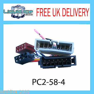 Pc2-58-4 Chrysler Voyager 1997 - 2002 Iso Stereo Head Unit Harness Adaptor Lead