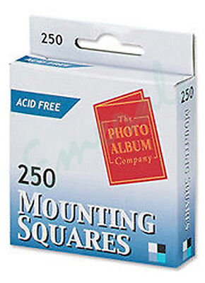 250 Photo Mounting Squares Acid Free (The Photo Company) Same Day Dispatch