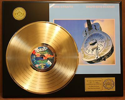 Dire Straits Gold Lp Ltd Edition Rare Record Display Award Quality