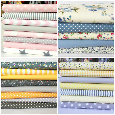 fat quarter bundles/ craft fabric 100% cotton fabric florals vintage for sewing