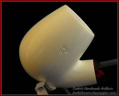 PLAIN Meerschaum Smoking Tobacco Tobaco Pipe Pipes Pipa Pfeife GIFT 2151