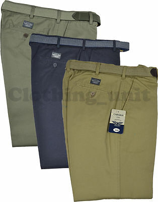 T2 Mens Chino Trouser With Belt Casual Formal W32-50  L 29 31