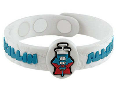 AllerMates PENICILLIN Allergy Wristband Alert Medical ID Silicone Bracelet NEW