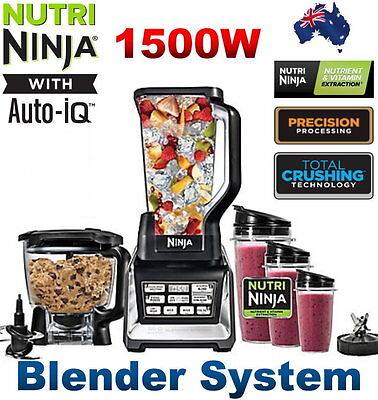 Nutri Ninja BL682NZ 1500W Blender System with Auto IQ Technology
