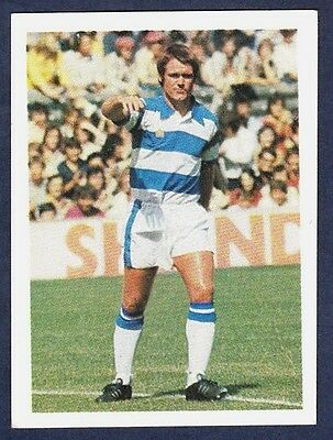 B1 32 Topps Football Red 1977 David Webb Queens Park Rangers No
