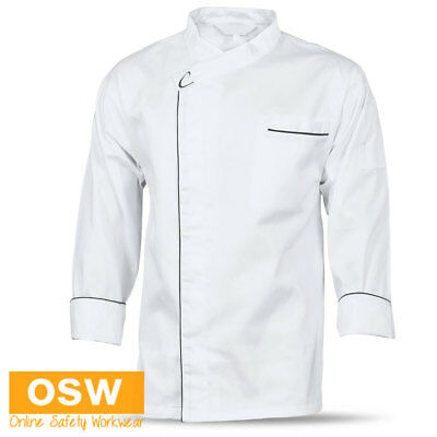 Unisex Modern Cool Breeze Chef Long/S Jacket Restaurant Hospitality Uniform