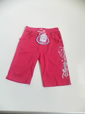 NEW DISNEY PRINCESS INTERLOCK BOTTOMS  Ages  2-3  & 5-6 YEARS COLOUR PINK