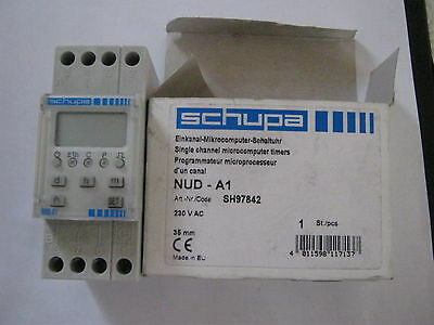 Get Schupa Single Channel Microcomputer Timer Nud-A1 Dcf