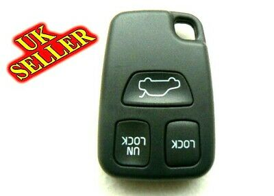 VOLVO 3 BUTTON S40 V40 S70 C70 V70 Remote Key FOB Case Shell UK SELLER