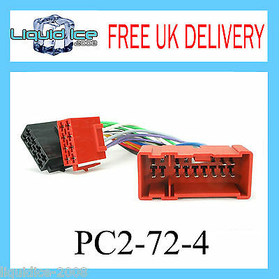 PC2-72-4 NISSAN ALMERA TINO 2001 to 2004 ISO LEAD STEREO HARNESS ADAPTOR CT20NS0