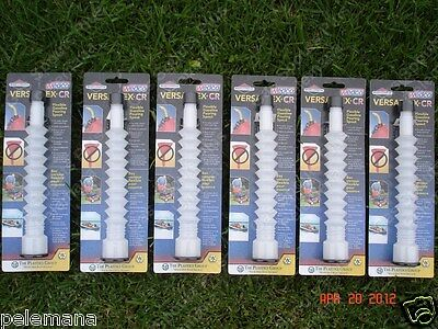 6 Versaflex CR Flexible Pouring Gas Can Spouts WEDCO, BRIGGS & STRATTON FUEL JUG