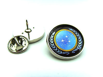 Star Trek United Federation Of Planets Lapel Pin Badge Tie Pin Gift