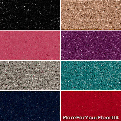 Sparkly Carpet Cheap Glitter Sparkle Soft Twist Pile Feltback Twist Bedrooms