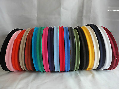 5 Meters x 12mm Cotton Bias Binding Variations of Colours available -Free P&P!!