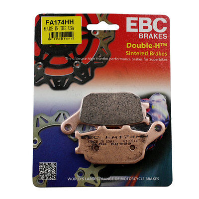 EBC Sintered HH Rear Brake Pads 2011 Yamaha FZ8 / Double-H Pads FA174HH
