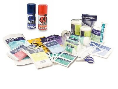Sports First Aid Kit REFILL Pack - Check out contents! Sport Football Rugby