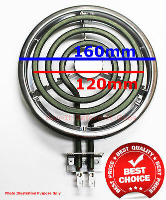 Stove Coil Heating Element Parts 125mm Od Westinghouse Chef Simpson Wholesale