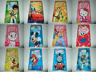 Childrens Childs Kids Passport Cover Holder 27 Designs