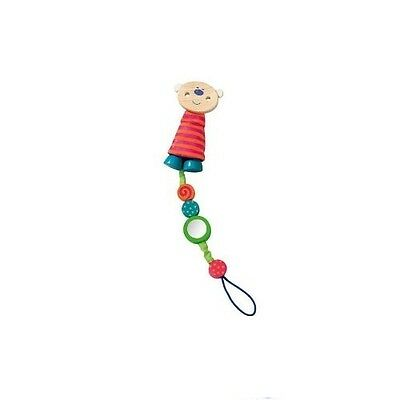 NWT Haba Bear Baby Pacifier Holder